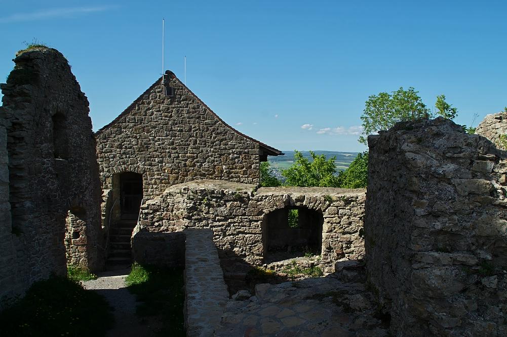 Zu den Ruinenaufnahmen