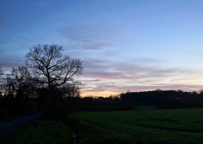 Blaue Stunde Borghorst
