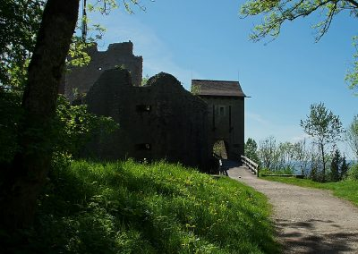 Eingang zur Küssaburg