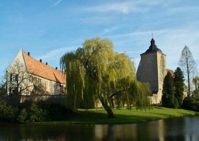 Frühling am Schloss Steinfurt