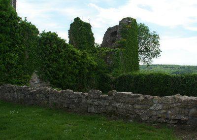 Geschützturm auf der Küssaburg