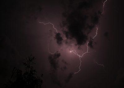 Gewitter in Klettgau
