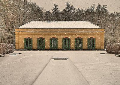 Konzertgalerie am Bagno - bei Schneegestöber