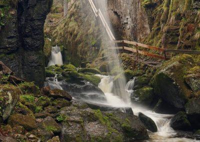 Menzenschwander Wasserfall 2017