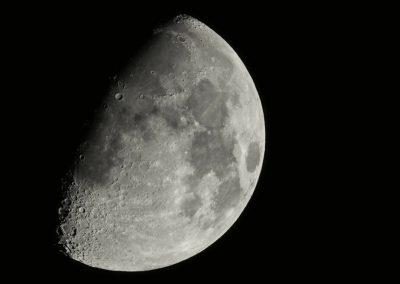 Mond am 10.10.2016
