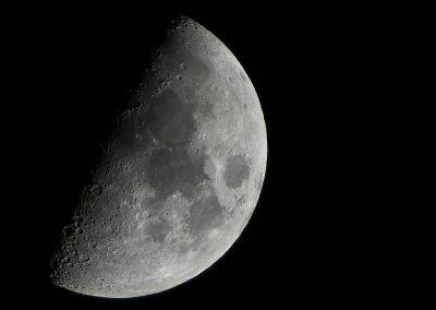 Mond im 1.Viertel Februar 2016
