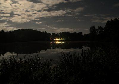 Nachts am Sallersee