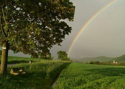 Regenbogen in Geisslingen