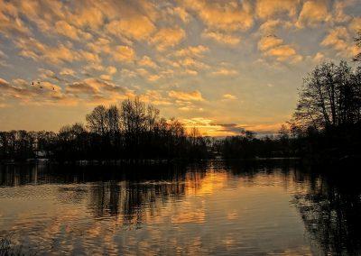 Saller See am Morgen