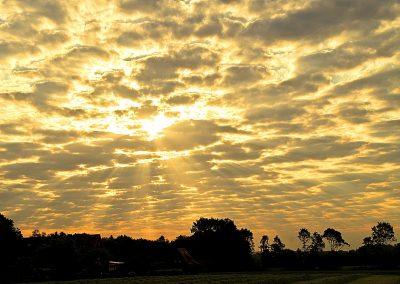Sonne Wolken Mix