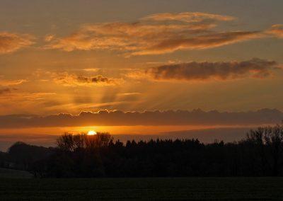Sonnenaufgang Hohenholte