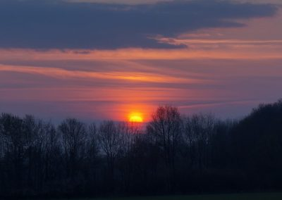 Sonnenaufgang Nienberge