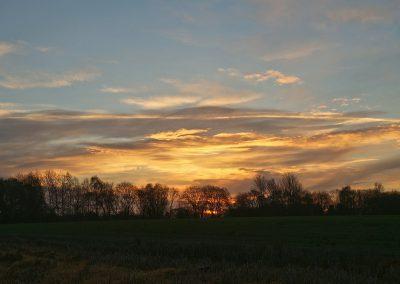 Sonnenaufgang im Emsland