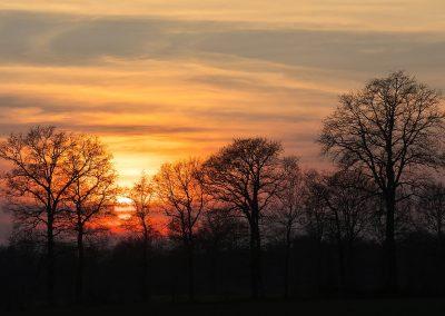 Sonnenuntergang Wettringen