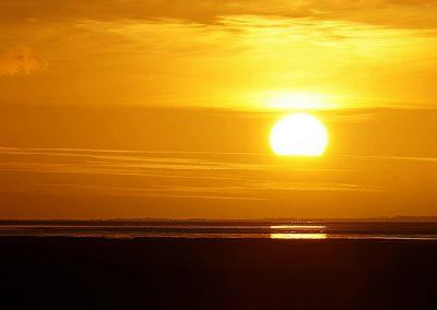 Sonnenuntergang Carolinensiel
