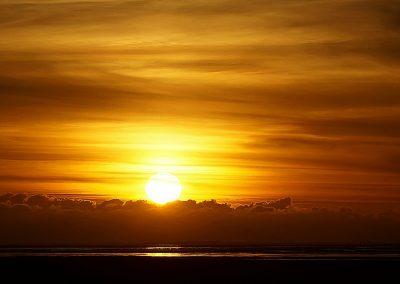 Sonnenuntergang Harlesiel