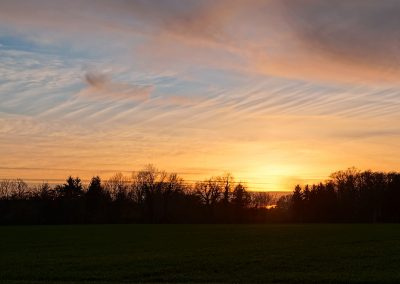 Sonnenuntergang Nienberge-Feldstiege