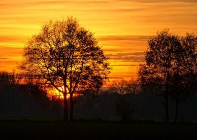 Sonnenuntergang Steinfurt-Rheine
