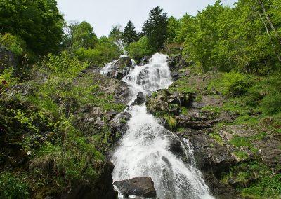 Todtnauer Wasserfall - Unteres Becken
